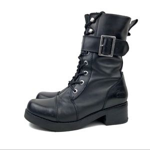 Harley Davidson Jammie Women's Leather Moto Boot